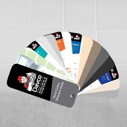 Grout Colour Selector